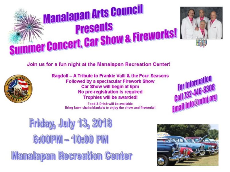 Jul Summer Concert And Car Show Manalapan NJ Patch - Car show chairs