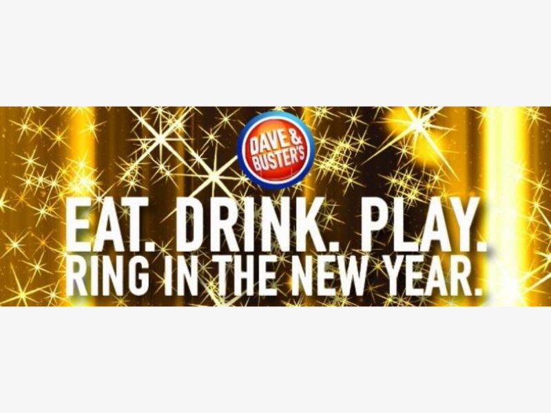 Dec 31 New Years Eve At Dave Buster 39 S Nyack Piermont Ny Patch