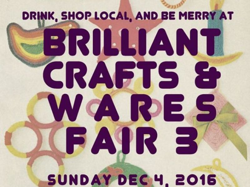 Dec 4 brilliant crafts and wares fair waukee ia patch for Iowa largest craft show