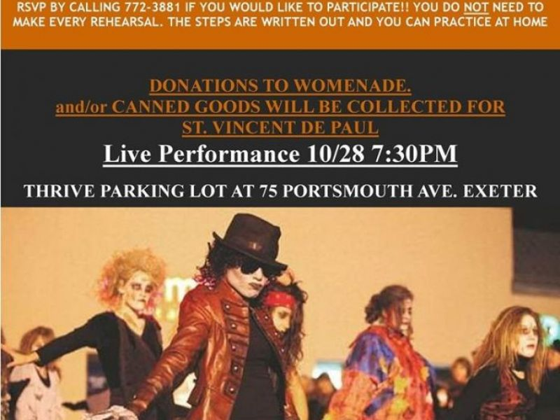 Oct 28 Live Performance Of Thriller To Benefit Svdp
