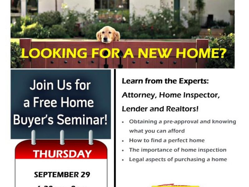 Free Home Buyers Seminar | Parsippany, NJ Patch