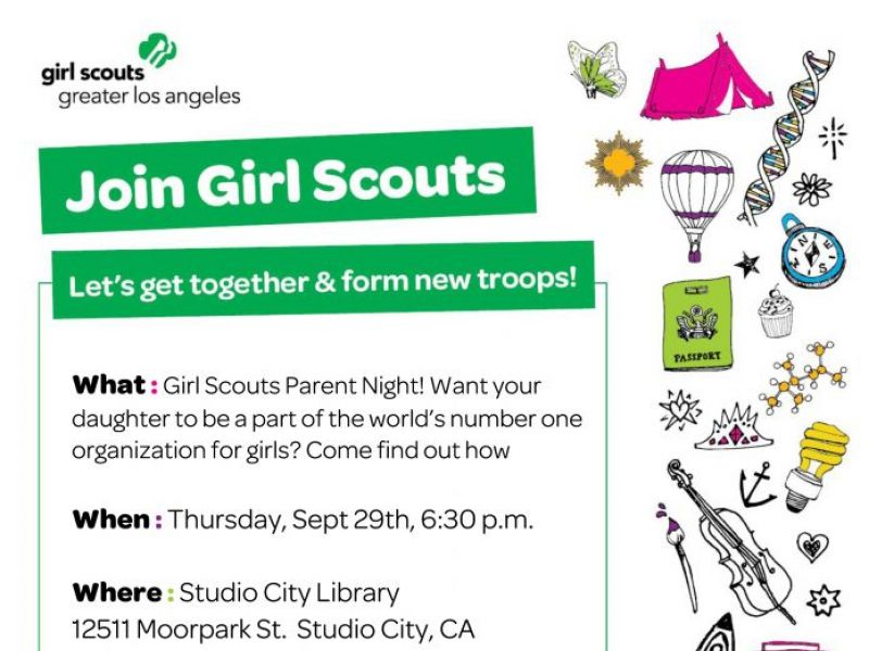 sep 29 girl scout parent info event thurs 9 29 at