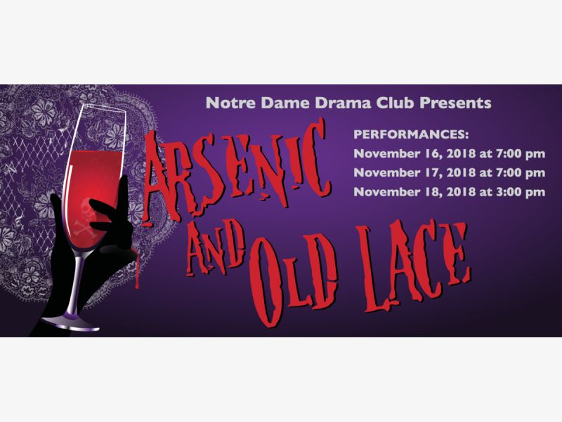 Arsenic and Old Lace Performed at Notre Dame High School