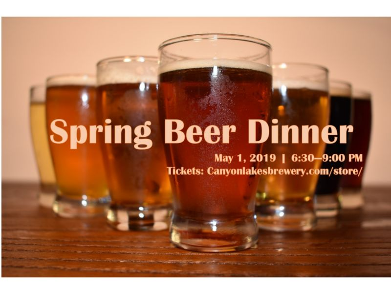 Silver and Gold Beer Dinner