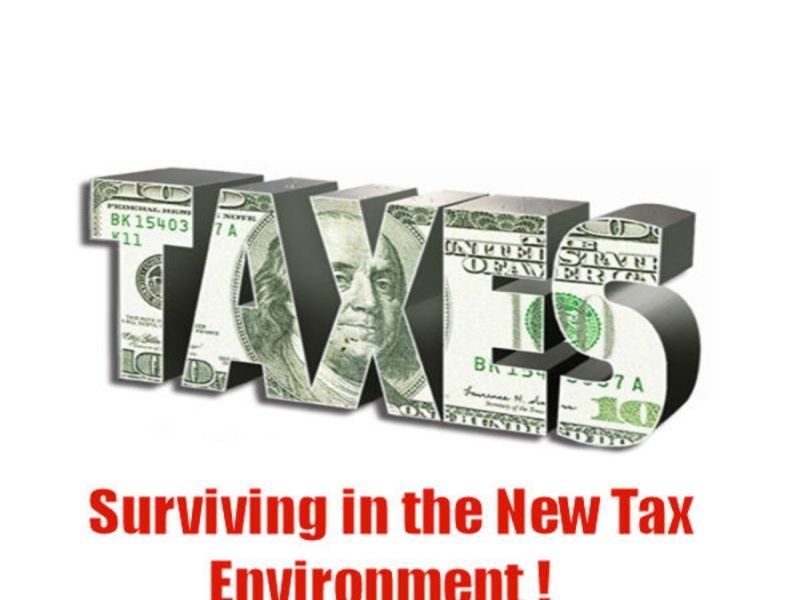 Surviving in the New Tax Environment