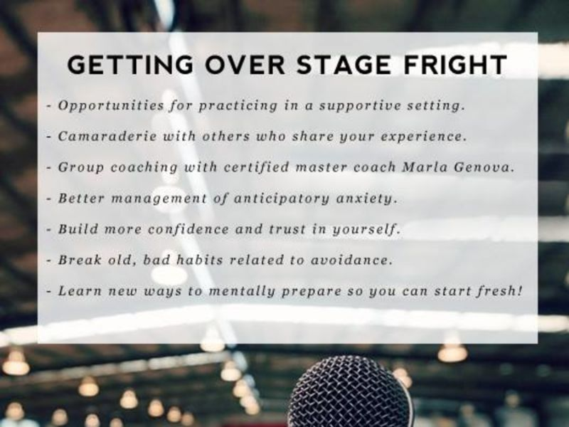 Weekend Workshop - Overcome Fear of Public Speaking/Performing