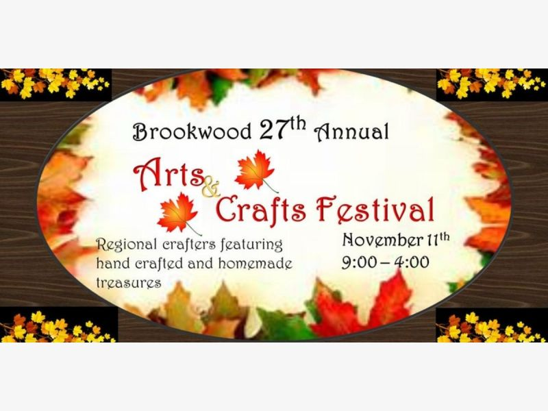 Nov 11 27th annual brookwood tip off club arts crafts for Arts and crafts festivals in georgia