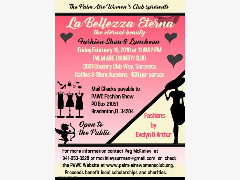 Feb 16 | La Bellezza Eterna, the Palm Aire Women\'s Club Fashion ...