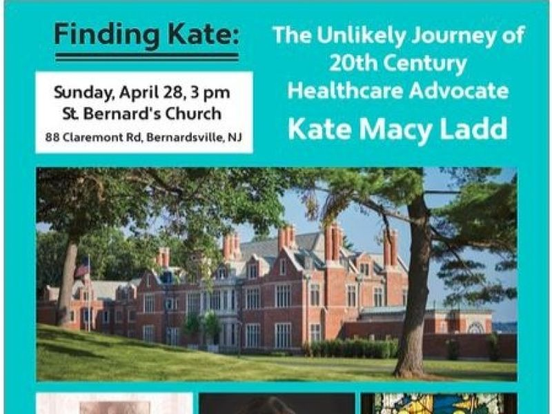 Book Presentation: Finding Kate by local author Meryl Carmel!