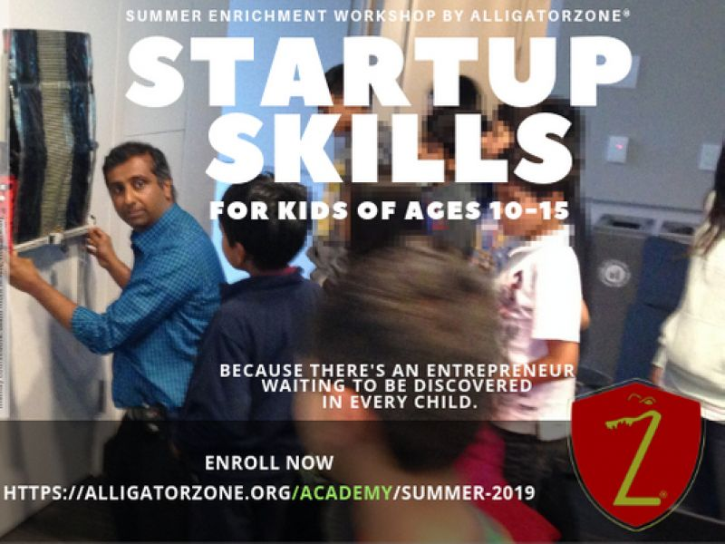 Summer Camp - Startup Skills For Kids, by AlligatorZone Academy