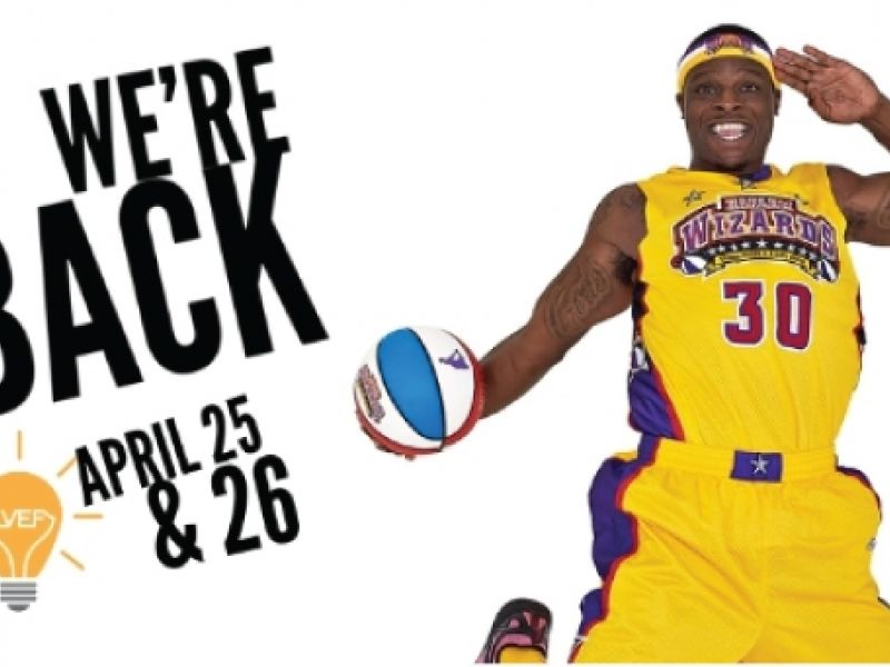 Come see the Harlem Wizards!