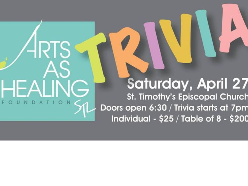 Trivia Contest for Arts As Healing