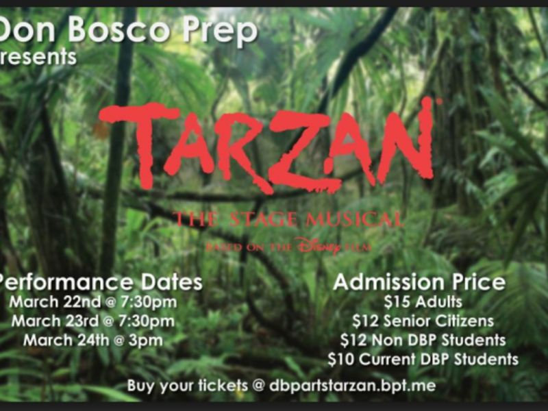 Don Bosco Prep's Production of Tarzan: The Stage Musical