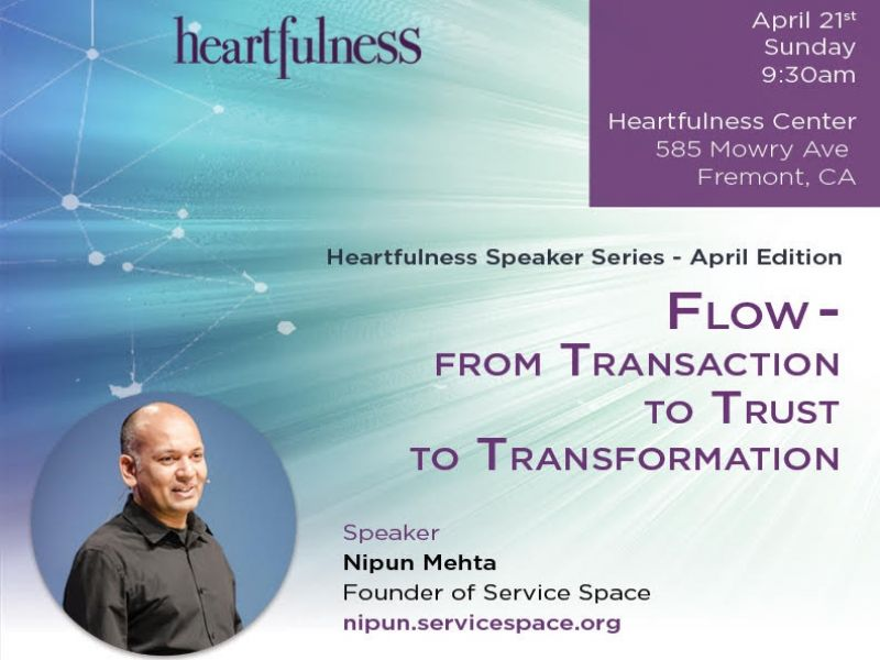Flow : From Transaction to Trust to Transformation