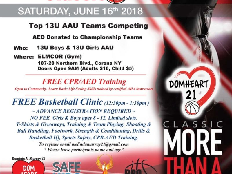 Jun 16 Ballin To Protect Young Hearts Classic Jackson Heights