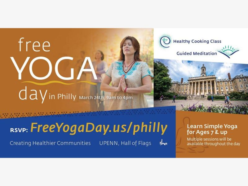 Free Yoga Day (rejuvenating sessions and healthy food)