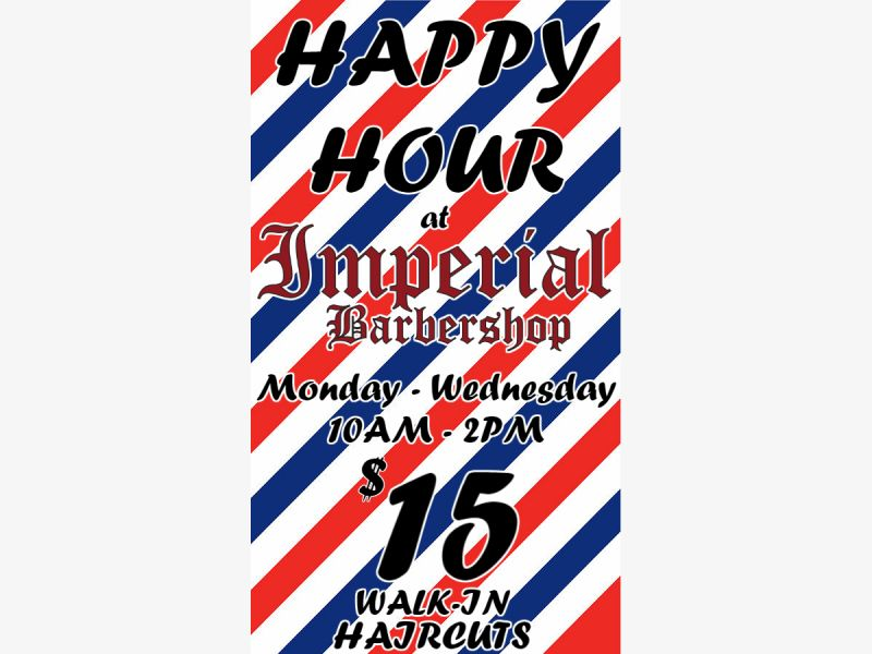 Oct 22 Haircut Happy Hour Clear Lake Tx Patch