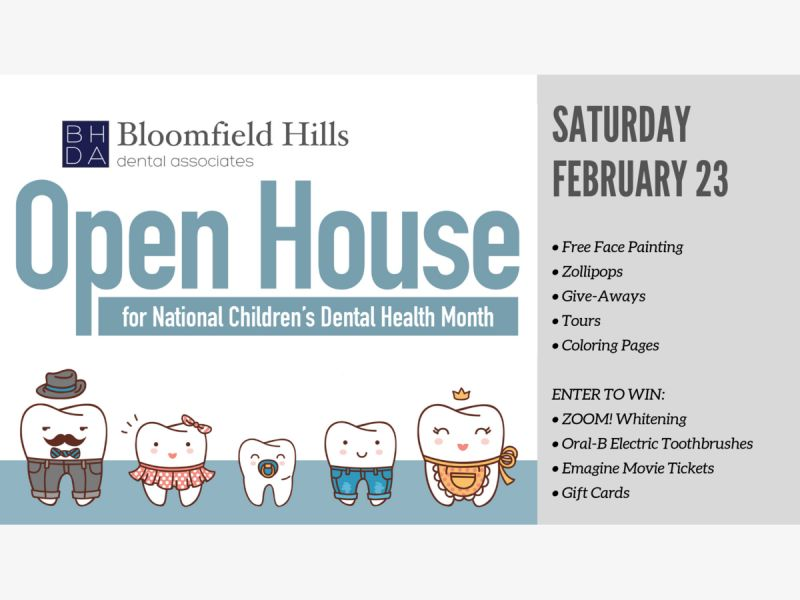 Open House! Free Face Painting! Family Fun!