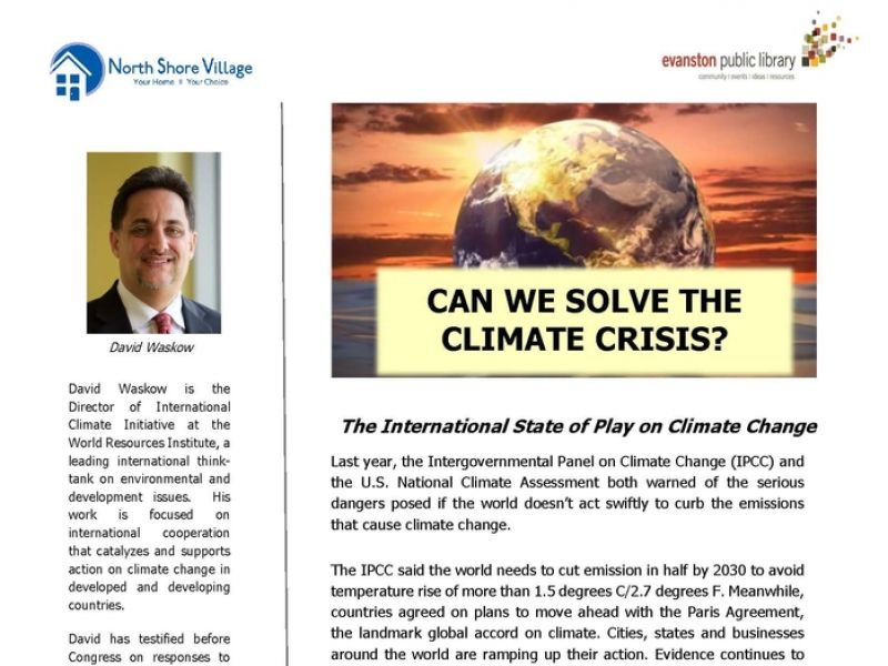 Can we solve the climate crisis?