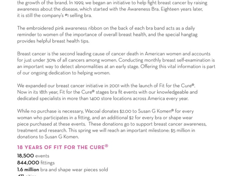 Oct 12   Wacoal Fit for the Cure   San Diego, CA Patch