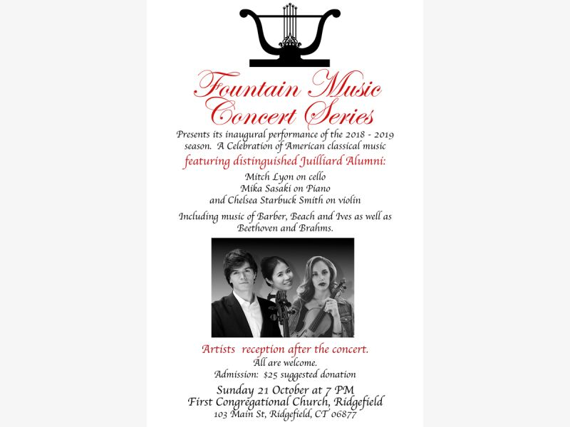 The Fountain Music Concert Series at First Congregational Church
