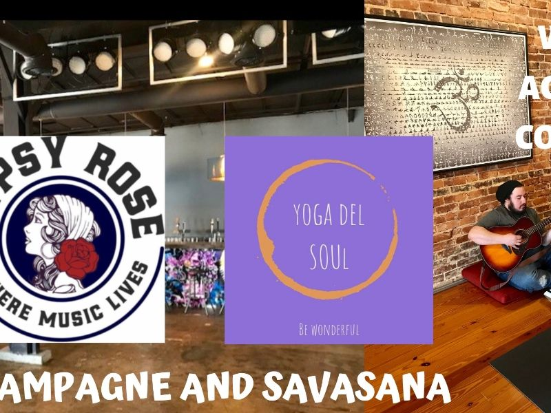 Yoga and Mimosas w/ Live Acoustic Music @ Gypsy Rose