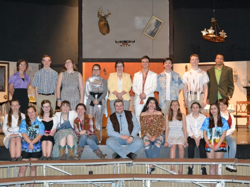 """Fallston HS Drama presents """"My Son is Crazy-But Promising"""""""