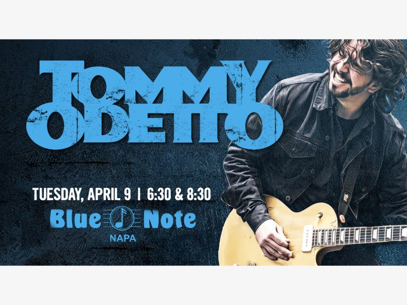 Tommy Odetto at The Blue Note