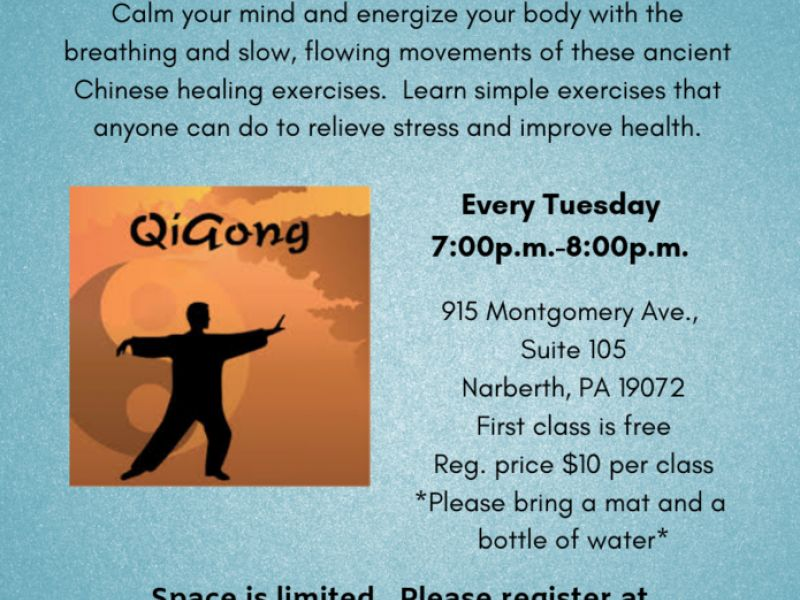 Qigong Classes for Beginners