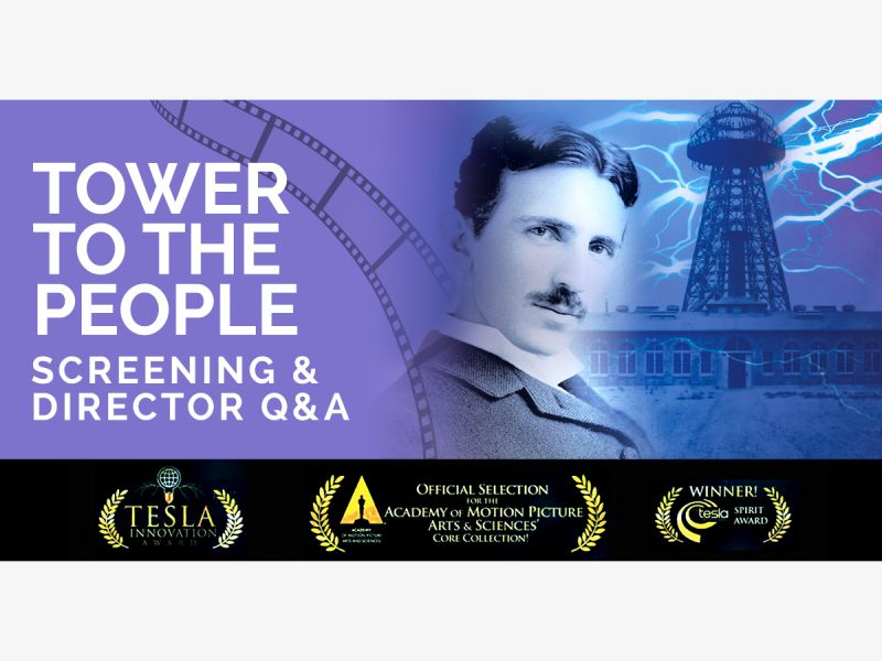 Movie Night host by Tesla Science Center at Wardenclyffe