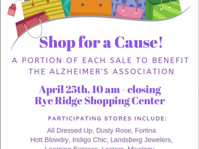 Shop For A Cause in Rye Ridge