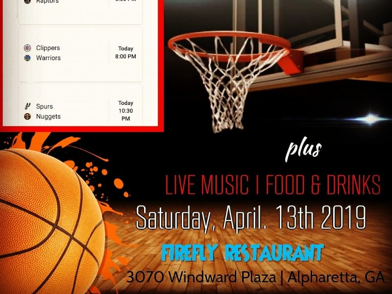 Nba Playoff Games, Food, Drinks, Live Music & more