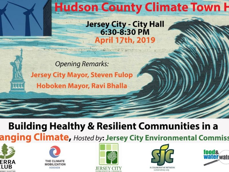 Hudson County Climate Town Hall