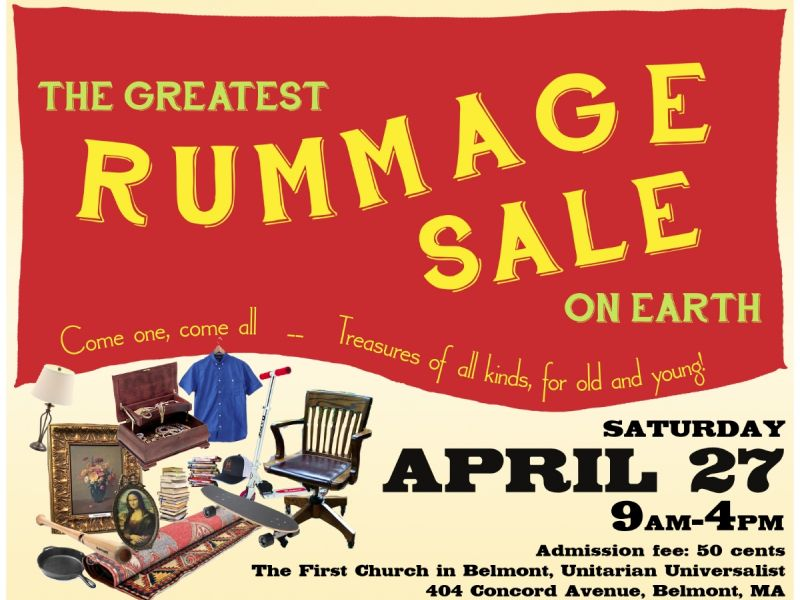 The Greatest RUMMAGE SALE on Earth!