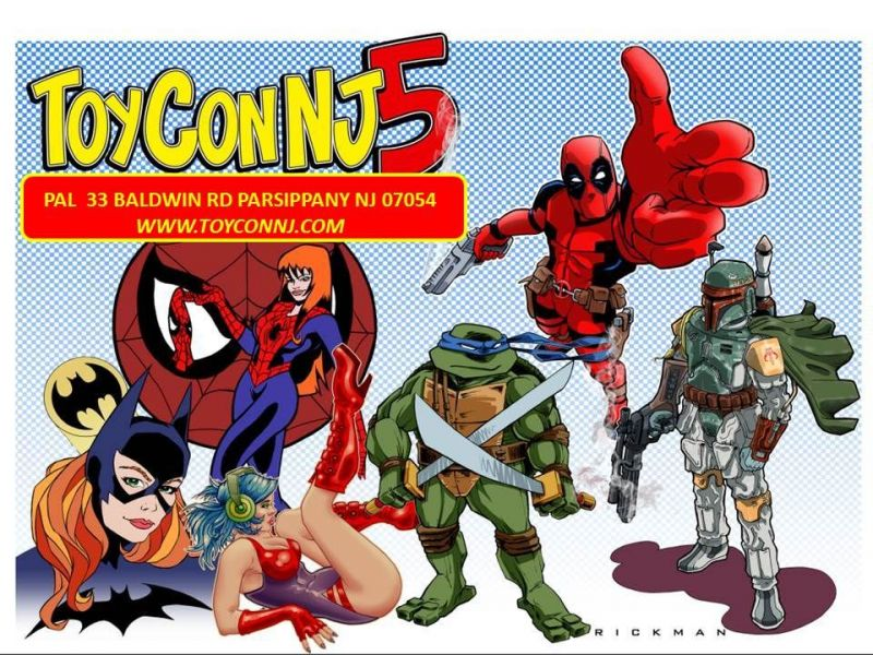 ToyConNJ 5 Toy-Comic-Collectibles-Gaming Convention | New York City