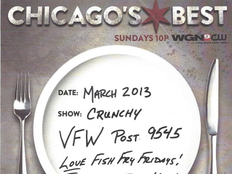 Mar 10 chicago 39 s best friday fish fry new lenox il patch for Vfw fish fry