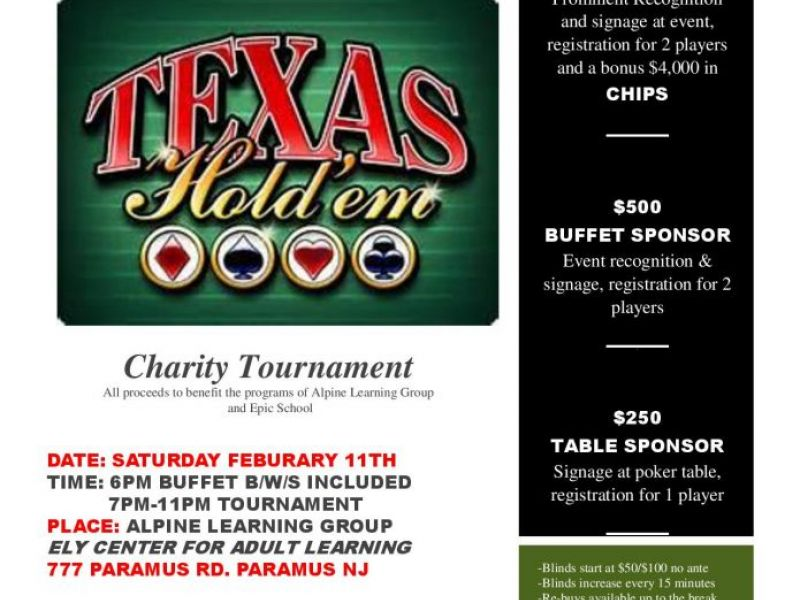 Charity poker rooms in oakland county