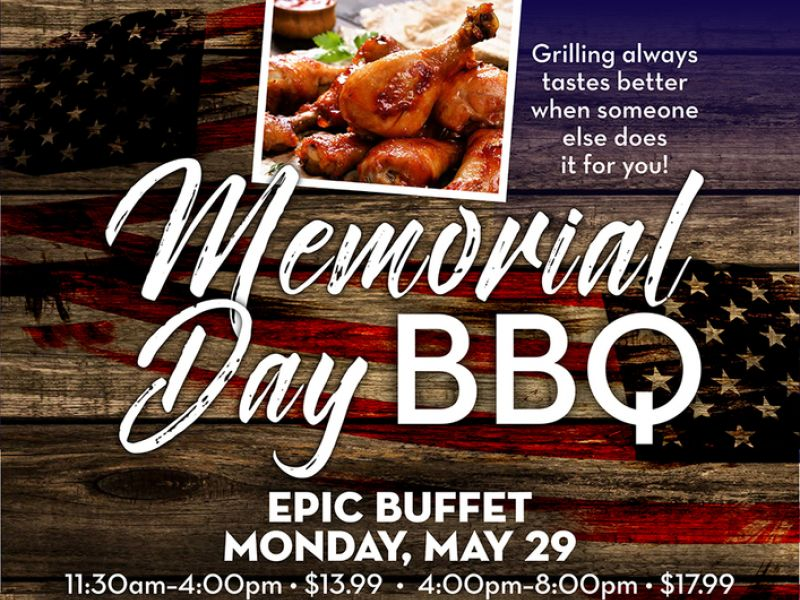 Hollywood Casino At Charles Town Races Is Throwing An All American Memorial  Day Barbeque | Reston, VA Patch