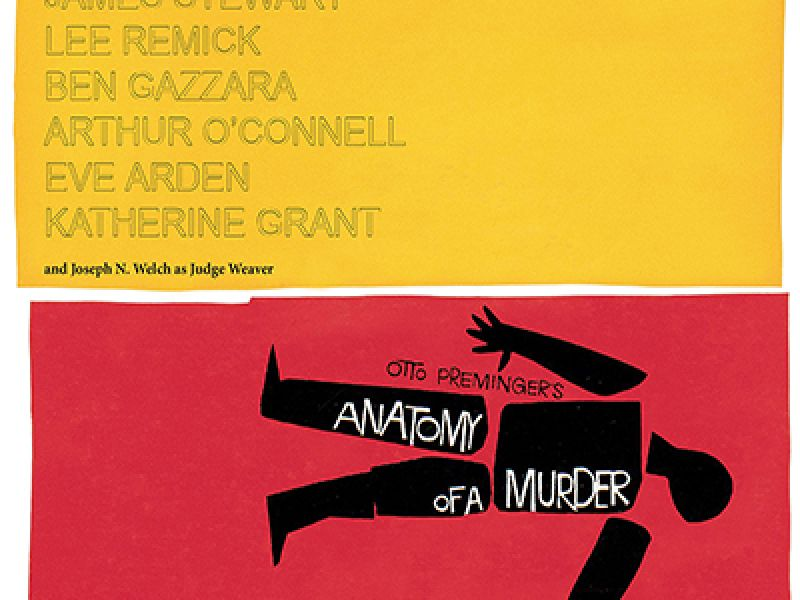 Fantastic Anatomy Of A Murder Poster Picture Collection - Human ...
