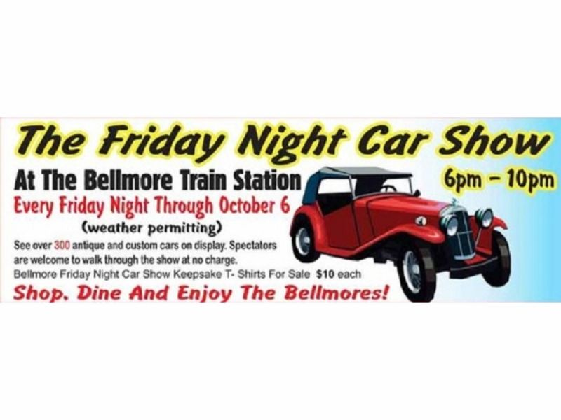 Bellmore Friday Night Car Show