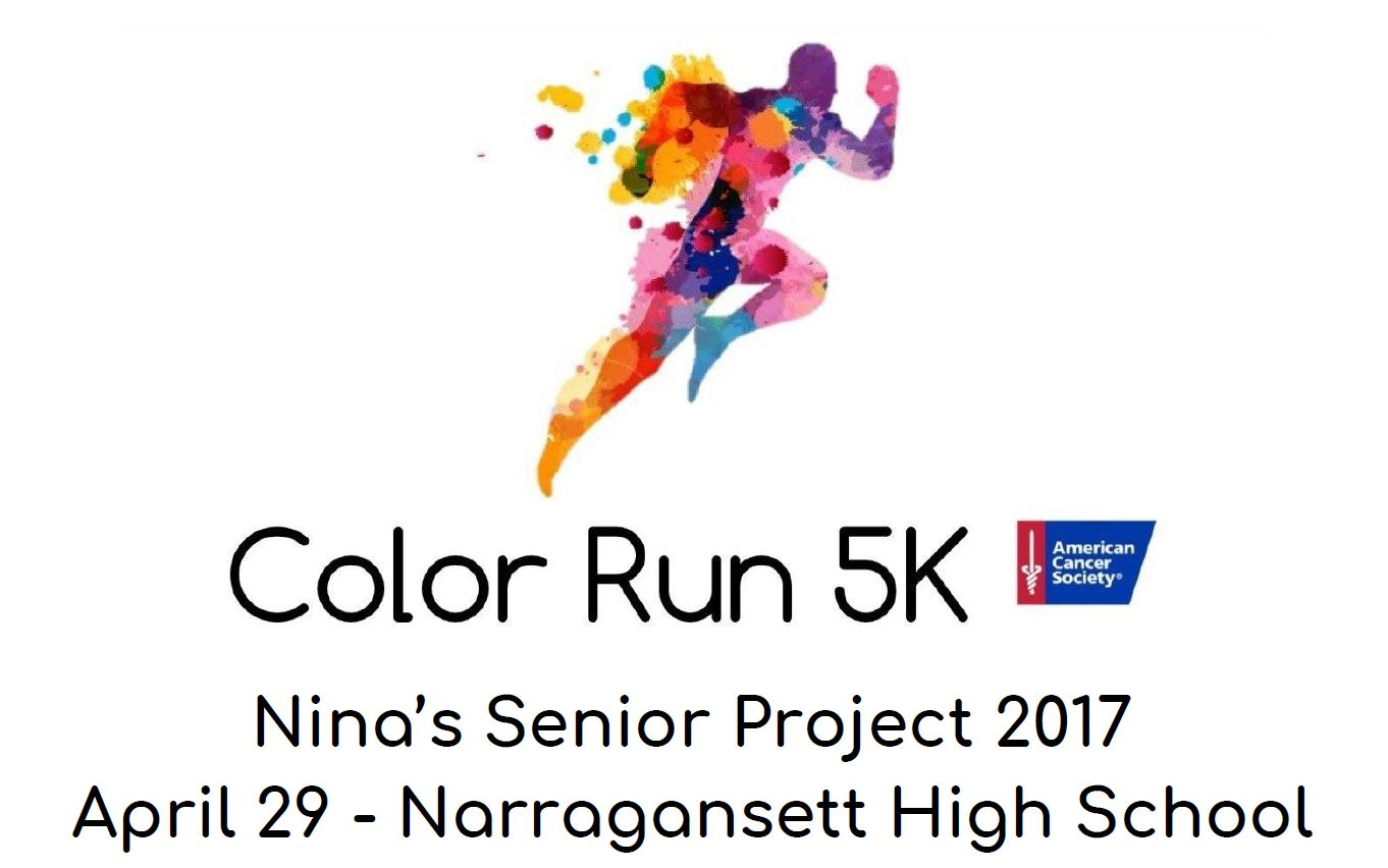 Apr 29 Narragansett Color Run 5k Narragansett South Kingstown