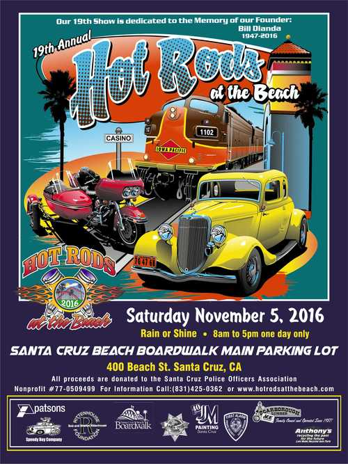 Nov Hot Rods At The Beach Santa Cruz Santa Cruz CA Patch - Santa cruz car show