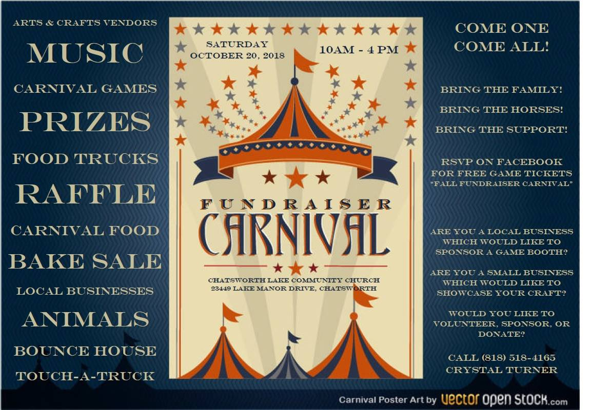 Oct 20 | Fall Carnival 2018: Chatsworth Lake Church, Chatsworth ...