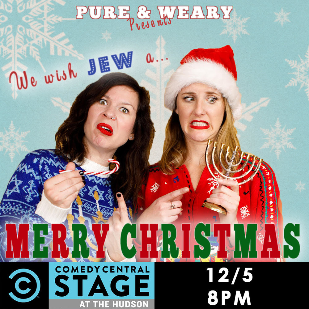 Dec 5 | We Wish Jew A Merry Christmas: Comedy Central Stage ...