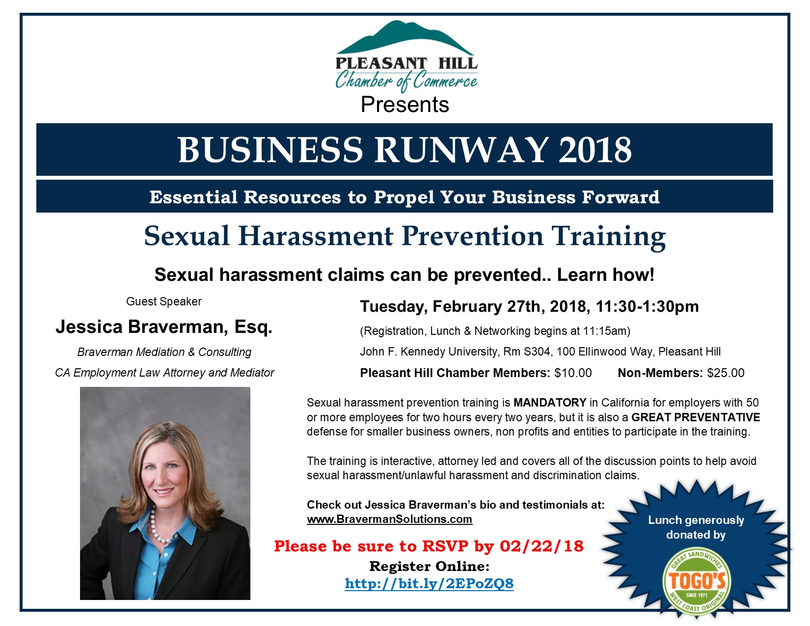 Cal chamber sexual harassment training
