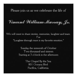 Oct 16 Vince Murray Memorial Celebration Of Life Pacifica Ca Patch