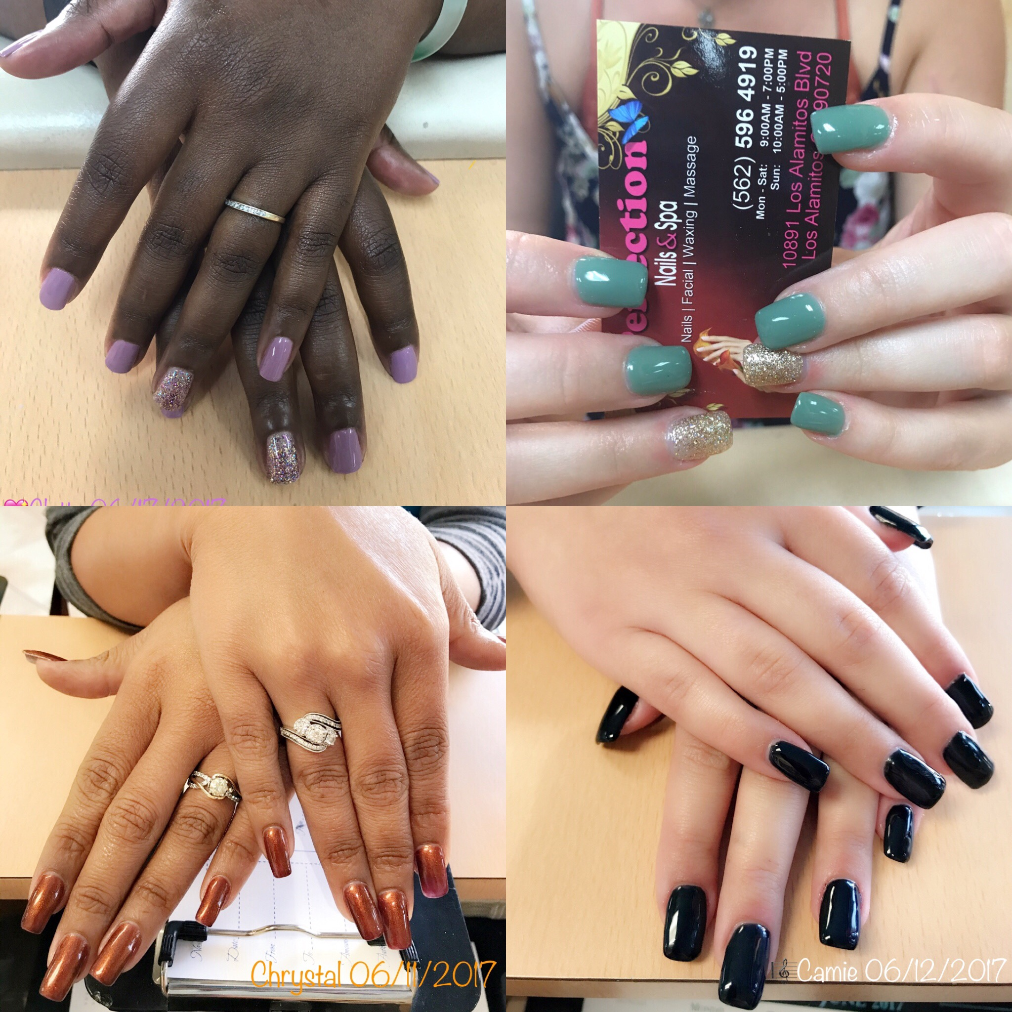 Aug 4 Perfection Nails Los Alamitos Seal Beach Ca Patch