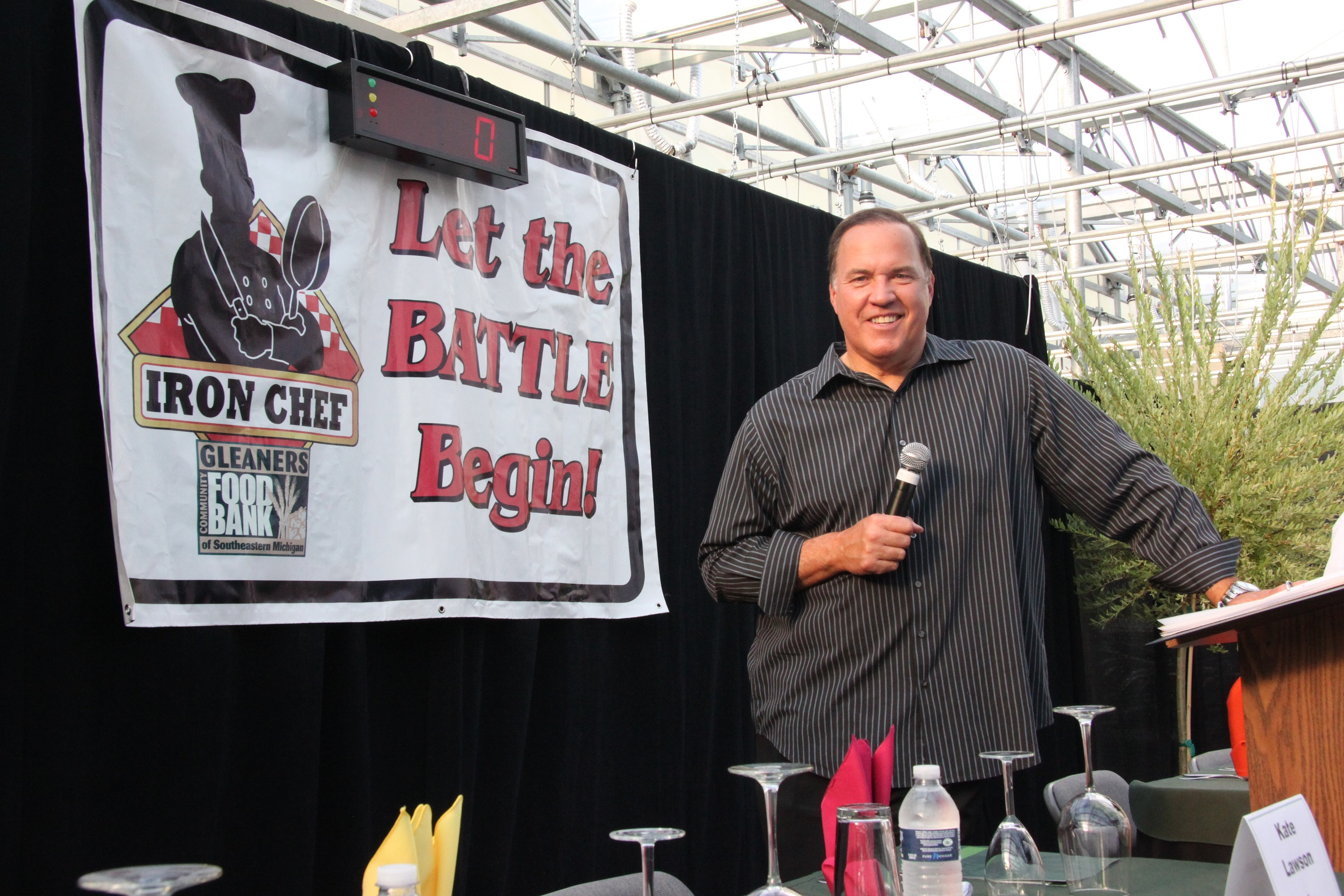 Aug 11 gleaners 12th annual iron chef competition for Allez cuisine iron chef